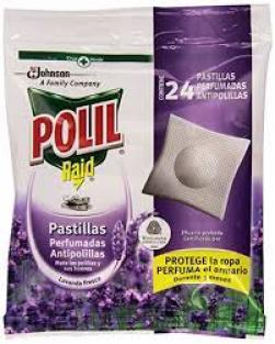 Polil pastillas antipolillas perfume lavanda bolsa 24