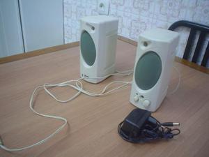 Altavoces 2 unidades para el ordenador o equipo de musica,