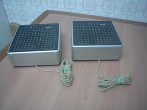 Altavoces para aparato musical marca Philips de 22 x 22 y 9
