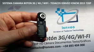 Cámara de Video Inalámbrico Oculta en Botón Internet 3G