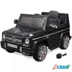 Coche eléctrico bimotor de juguete Mercedes Benz G65 SUV