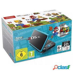 Consola nintendo new 2ds xl azul/negra + super mario 3d land