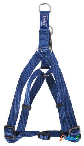 Freedog Arnés Nylon Reflect A Azul Para Perros 1 cm