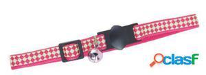 Freedog Collar Cream Rosa y Verde Para Gatos Rosa