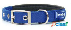 Freedog Collar Ergo de color Azul para su mascota. 1.5x53 cm