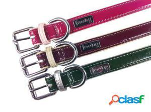 Freedog Collar Glam de color Granate para su mascota
