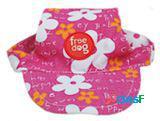 Freedog Gorra Love Flower de color rosa para su perro S
