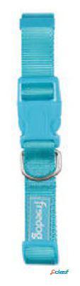 Freedog Tirador nylon basico de color Turquesa para su