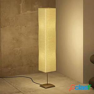 Lámpara de pie de acero, 135 cm
