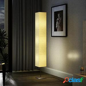 Lámpara de pie de acero, 170 cm