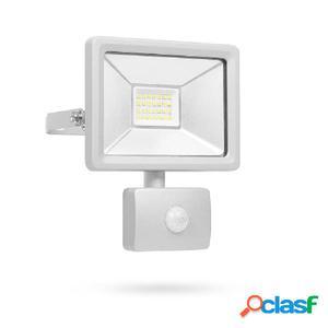 Smartwares Foco LED de seguridad con sensor 20 W gris
