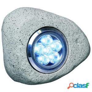 Smartwares Focos LED en forma de roca 3 unidades 2,7 W gris