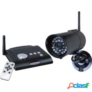 Smartwares Kit de cámara de seguridad con grabadora digital