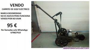 Vendo carrito de golf eléctrico boomerang
