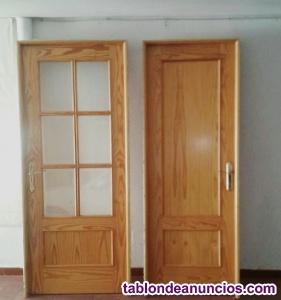 Venta puertas madera pino