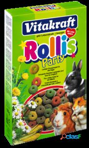 Vitakraft Snacks Rollis Party para Roedores 500 GR