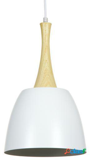 Wellindal Lámpara de Techo blanca