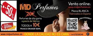venta de perfumes de marca blanca equivalentes de