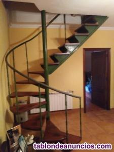 Escalera de caracol interior