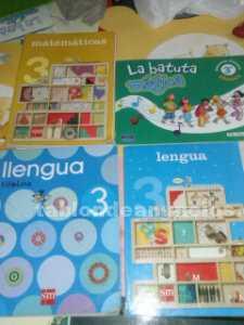 Libros 3º primaria en perfecto estado