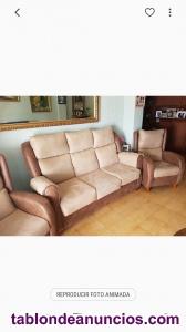 Sofá y dos sillones nuevos