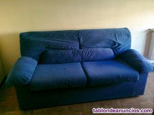 Venta sofa de tres plazas.