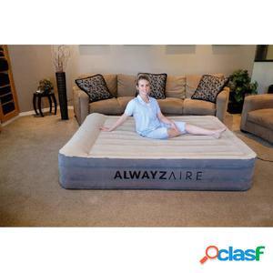 Bestway Colchón hinchable AlwayzAire 2 plazas 203x152x43cm