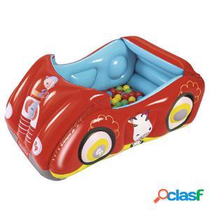 Bestway Piscina de bolas hinchable forma de coche Fisher