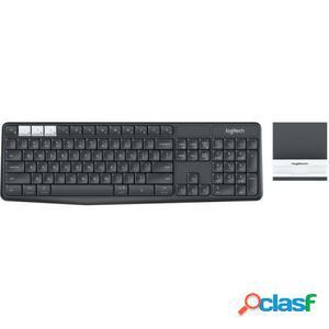 Combinacion inalambrica de teclado y soporte logitech k375s