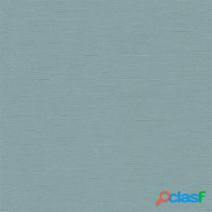 DUTCH WALLCOVERINGS Papel de pared liso azul-verde 02504-00