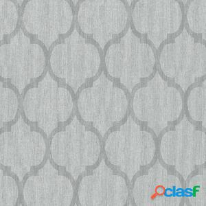 DUTCH WALLCOVERINGS Papel de pared pintado diseño gris