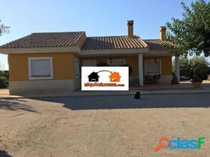 Estupenda casa de campo en Sangonera la Seca