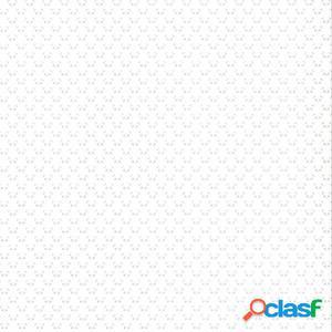 Fabulous World Papel de pared Small Panda blanco y gris