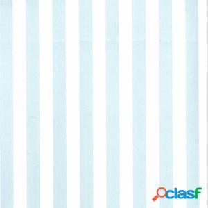 Fabulous World Papel de pared Stripes blanco y azul claro