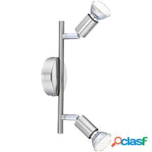 GLOBO Lámpara de focos LED MATRIX níquel y acrílico