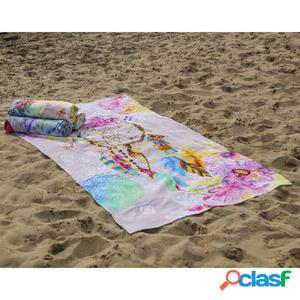 HIP Toalla de playa 5363-H Guillia 100x180 cm multicolor