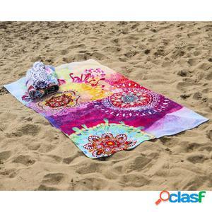 HIP Toalla de playa 5597-H Esplanade 100x180 cm multicolor