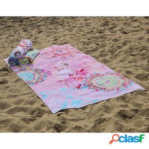 HIP Toalla de playa 5848-H Vilastre 100x180 cm multicolor