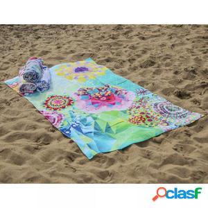 HIP Toalla de playa 5888-H Saquira 100x180 cm multicolor
