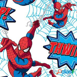 Kids at Home Papel de pared Spiderman Thwipp blanco DF73299