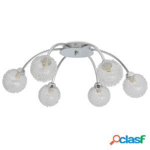 Lámpara de techo para 6 bombillas G9 240 W