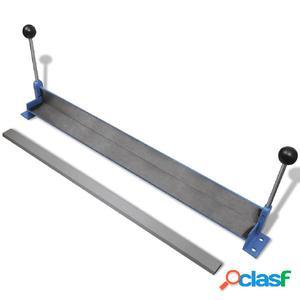Máquina plegadora manual de placas de acero, 760 mm