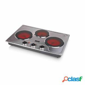 Nova Placa de cocina de cerámica con 3 fogones de 3300 W