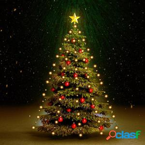 Tira luces 150 LED árbol navidad interior y exterior IP44
