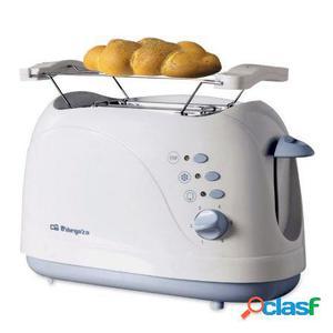 Tostador de pan orbegozo to-3010 - 750w - 2 ranuras