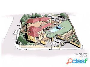 Vendo parcela 843 m2 con proyecto para vivienda 510 m2.