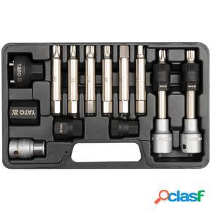 YATO Set de herramientas combinadas de polea de alternador