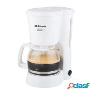 Cafetera de goteo orbegozo cg 4012 - 650w - 6 tazas - filtro