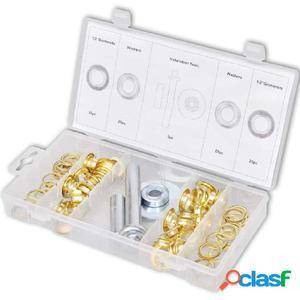 Kit de reparación para lonas con ojales y perforadores (103