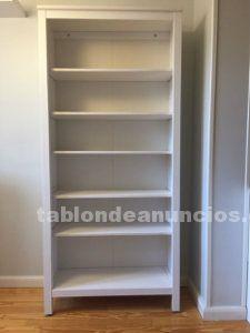 Libreria 2m x 90 cm x 79,5 cm blanca
